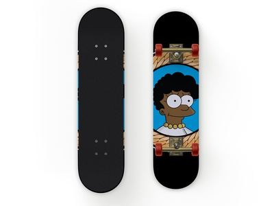 Melanin Lisa Skateboard Deck
