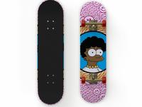 Melanin Lisa Unchained Skateboard Deck