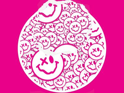 An Eye Open washington dc smileys smiley face happy emoji stickermule branding graphic design design cool