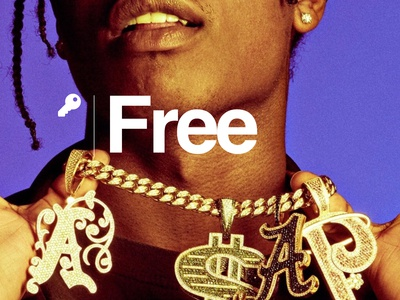 Free A$AP ROCKY swiss design graphic design helvetica a$ap mob a$ap rocky