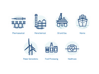 Industrial Product Icons