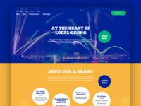 Charity Homepage Development