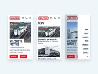 Manufacturing Mobile Website