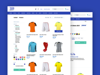 Sports Shop and Products