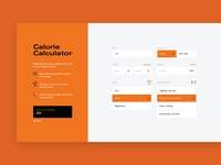 Calorie Calculator Concept