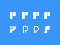 P Logo brainstorming