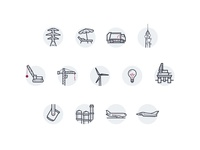 Health and Safety Service Icons