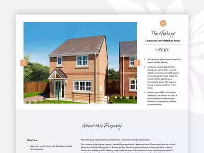 Housing Page Designs