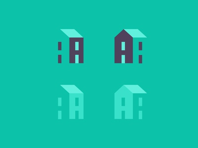3D A House Logo