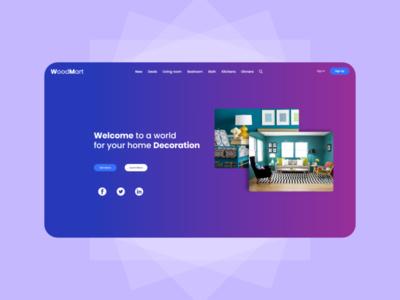 Home Decoration Web Design