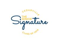 The Senior Signature Logo
