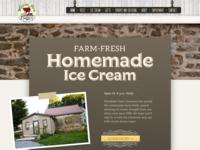 Woodside Farm Creamery Website Design