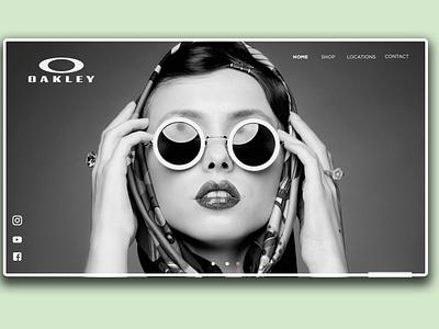 Oaklely website UI concept illustration illustrator photoshop designer graphic visual art advertising marketing web landing page website web design landing page design website design ui uidesign ux design uiux ui design