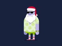 Traveling Santa
