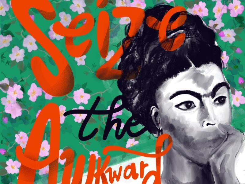 Frida typography fatletters digital lettering design illustration handlettering hand-lettering digital illustration
