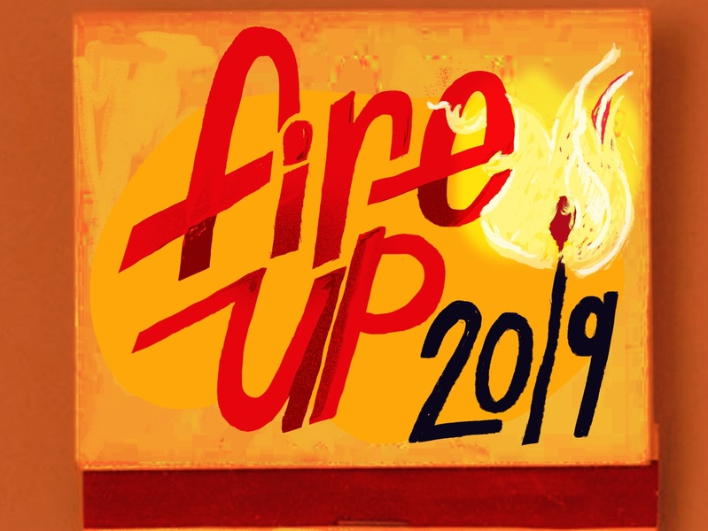 Match boxes 2019 digitalillustration fire 2019 fireup handlettering lettering matches