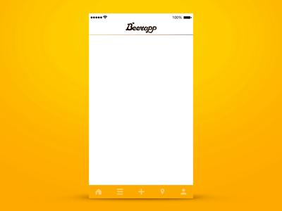 Beer App - preview petya application ux branding hops yellow app beer