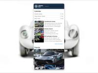 Ultimate Cars app - interaction delay mercedes ferrari wheels design interface animation oldtimer application petya automotive cars uiux interaction app ux ui ultimate