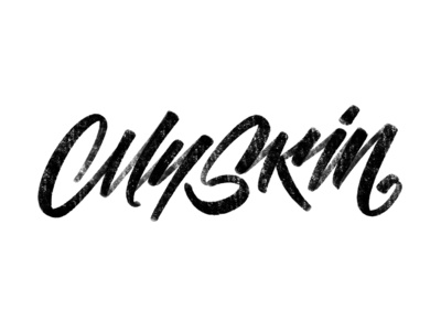 My Skin lettering logo