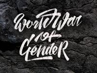 Worldwar of gender