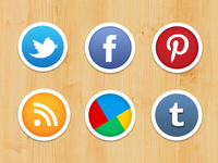 My Social Icons