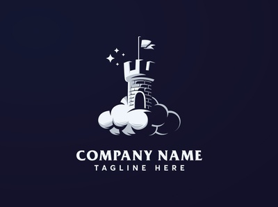 Premium Dream Castle Logo Template