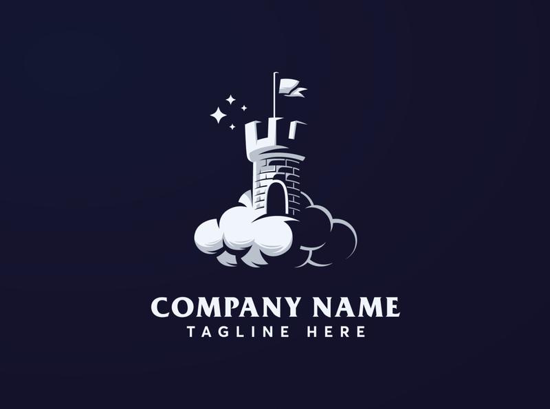 Premium Dream Castle Logo Template