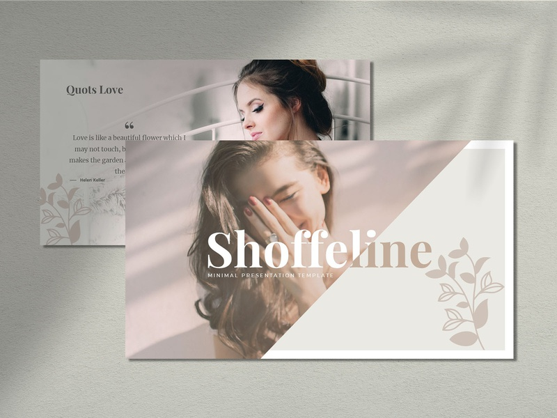 Shoffeline - Presentation Template