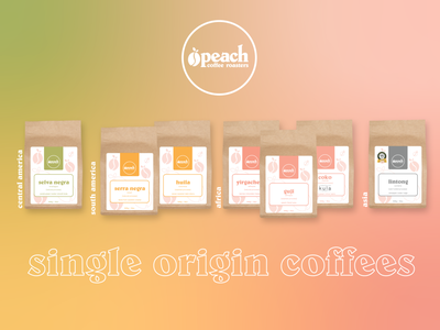 PCR - Single Origin graphic design illustration logo logodesign branding coffee label labels packaging coffee