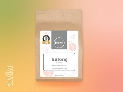 PCR - Single Origin graphic design illustration logo logodesign branding coffee label labels packaging coffee