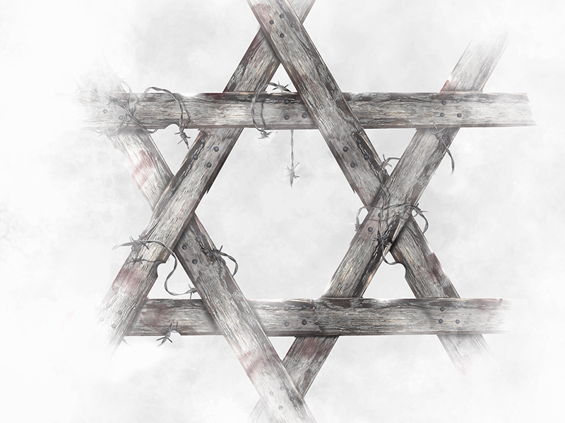 Holocaust 75th Anniversary Memorial Project  holocaust 75th anniversary star of david