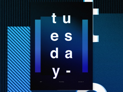 Posters and Gradients ~ Tuesday