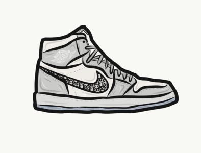 Air Jordan 1 Dior