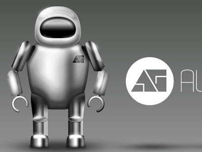 AlreadyGood Robot 3d robot shiny metalic alreadygood icon