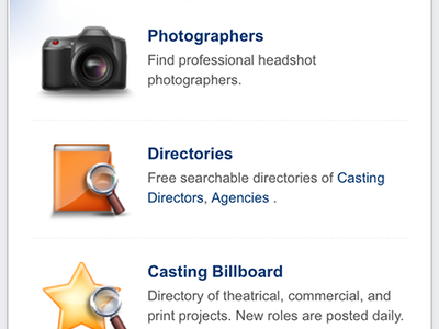 Talent App Career Center phone mobile icons app iphone