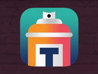 Street Art App Icon 2