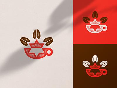 La República branding pictograms coffee pictogram symbol icon logo