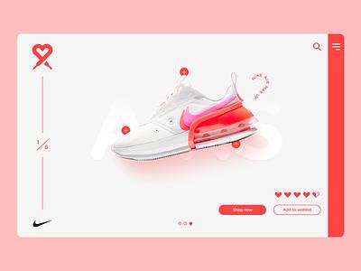 Love My Airs 💖 👟 uiux logo love nike air max web design