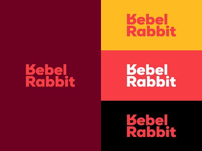 Rebel Rabbit 🐇 rebel rabbit branding logotype logo
