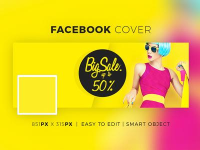 Facebook Fashion Cover V1