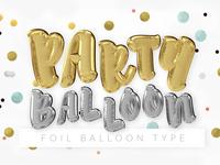 Foil Balloon Type Pack