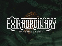Extraordinary - Handmade Font