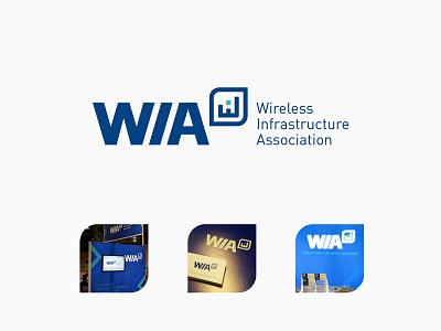 WIA - Wireless Infrastructure Association logo trade association logo association logo wireless association wirelss