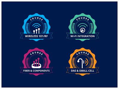 badges experiment  badge icon wireless