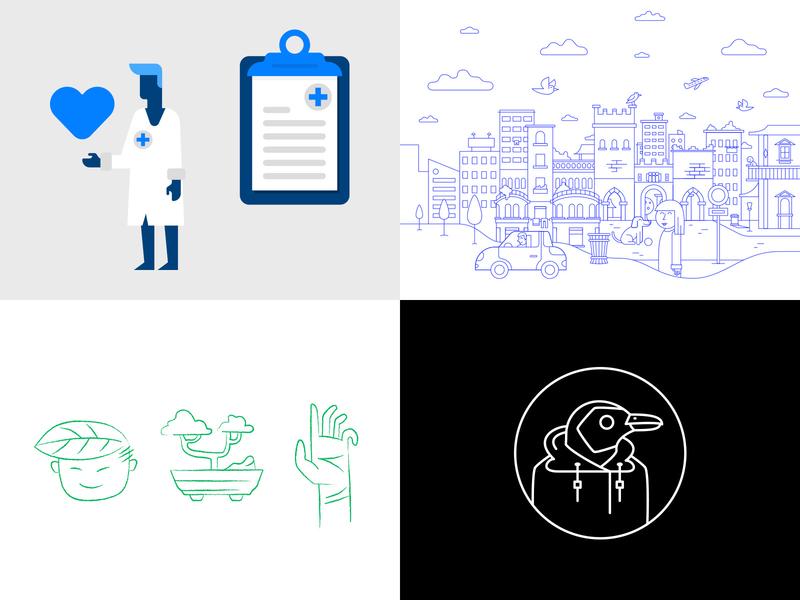2018 illustration 2018 trends 2018