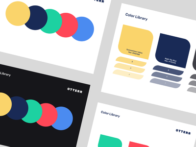 Otterr – Color Library design ux color branding minimal flat ui