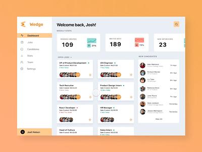 Video Interviewing Platform UI Animation gif animation mockup company branding video app product design webdesign web ux ui