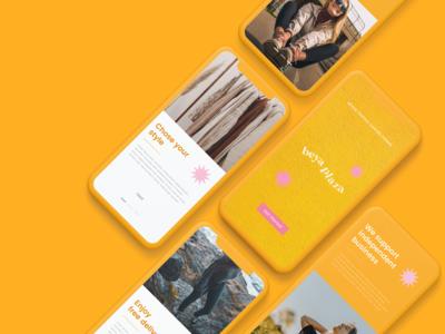 Beya Plaza | App Design branding ui design ux uiux ui fashion app beya plaza