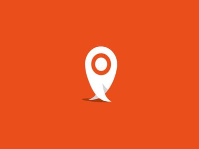 tiptap logo geo location geo tip app app logo walking geolocation map pin