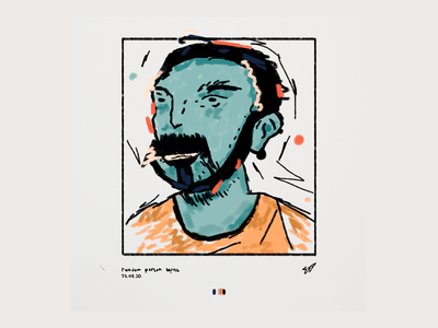 Random Person man people faces abstract adobe photoshop illustration art dribbble drawing illustration colors art adobe